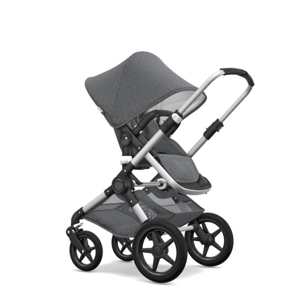 Bugaboo | Fox Classic+ Complete AU ALU : Grey Melange (PRE ORDER FOR SEPTEMBER DELIVERY)