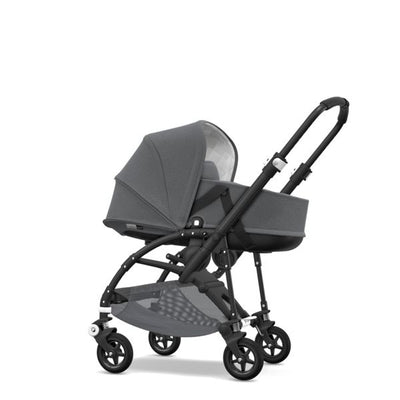 Bugaboo | Bee5 Classic+ Bassinet Tailored Fabric Set : Grey Melange