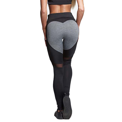 Love Leggings - Black/Gray