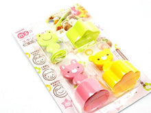 Animal Cutter & Stamp Set of 3
