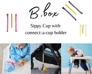B.box Sippy Cup with connect-a-cup
