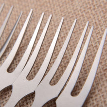 Stainless Steel Mini Fruit Fork - Pack of 6