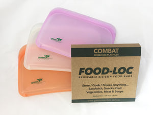 Medium Food-LOC Silicone Food Pouch
