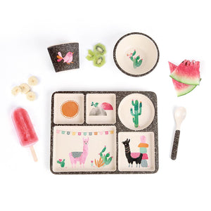 Love Mae Divided Plate Set - Llamarama