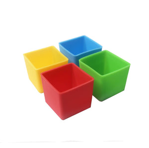 MUNCH CUPS - Bold Square (set of 4)