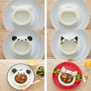 Open Mouth Rice Mold | Animal