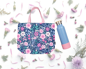 Tote and Water bottle Set