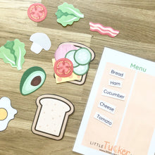Build Your Sandwich - Printable Game