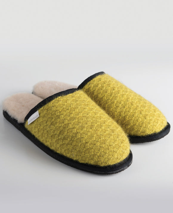 Merinomink-MM Slippers - Golden Pearl-shop online at www.thewoolpress.com