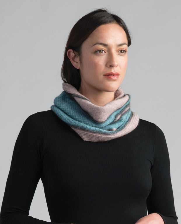 Womens River Snood-Merinomink-The WoolPress Arrowtown