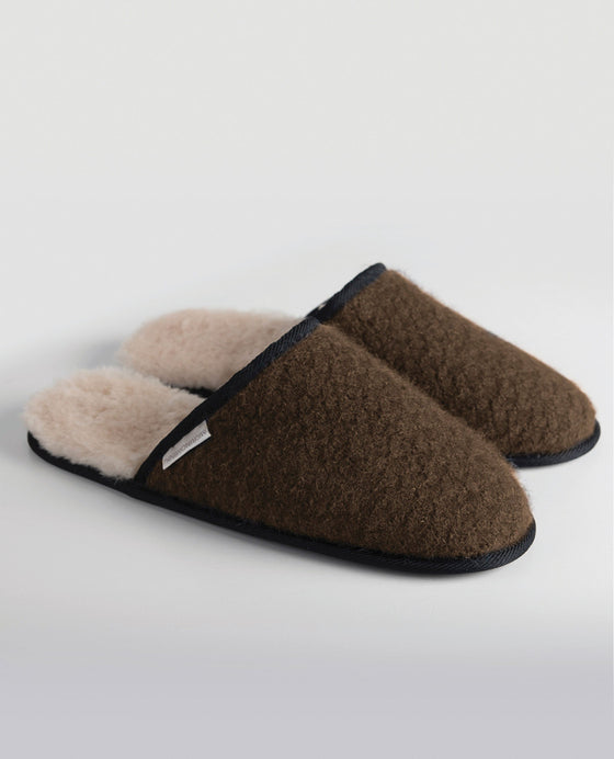 Merinomink House Slippers Pebble