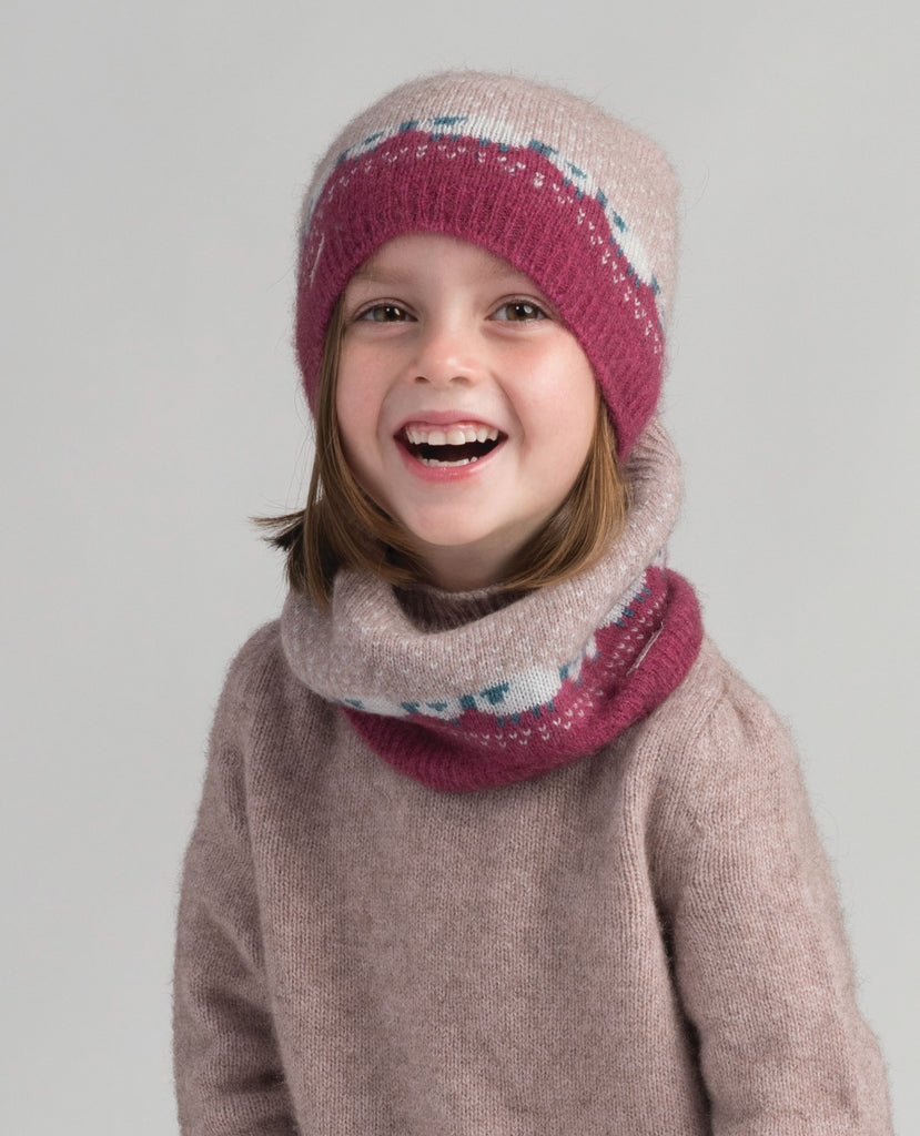 Meriomink Kids Sheep Beanie Wistful
