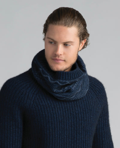 Peak Snood-Merinomink-The WoolPress Arrowtown
