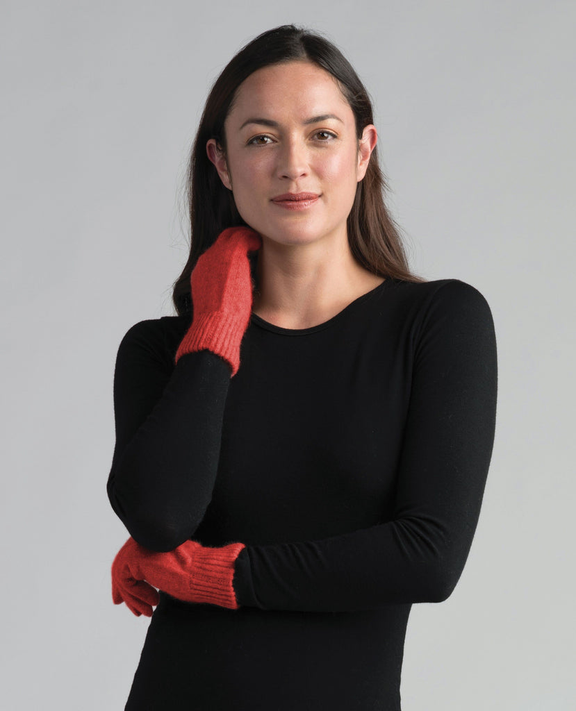 Merinomink Gloves Redcurrent