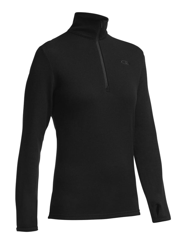 Womens Original LS Half Zip-Icebreaker-The WoolPress Arrowtown