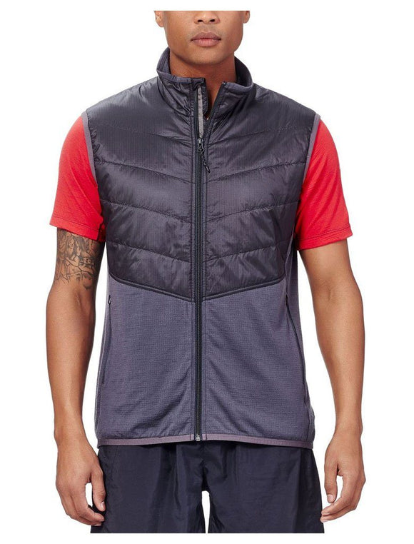 Mens Ellipse Vest - Monsoon/Black
