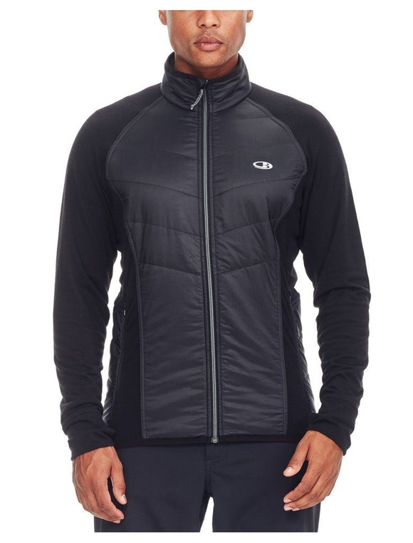 Mens Ellipse LS Zip - Rocket/Midnight Navy