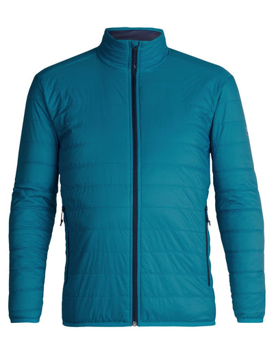 Mens Hyperia Lite Jacket - Alpine/Midnight Navy-Icebreaker-The WoolPress Arrowtown