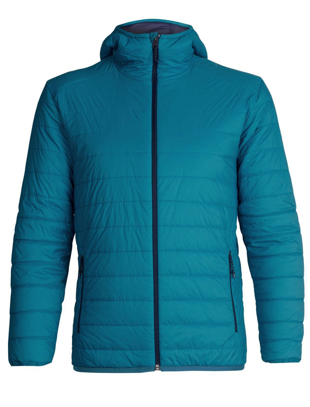 Mens Hyperia Lite Hooded Jacket - Alpine-Icebreaker-The WoolPress Arrowtown