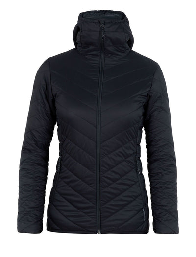 Womens Hyperia Hooded Jacket-Icebreaker-The WoolPress Arrowtown