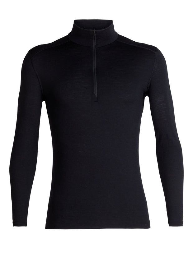 Mens 200 Oasis LS Half Zip-Icebreaker-The WoolPress Arrowtown
