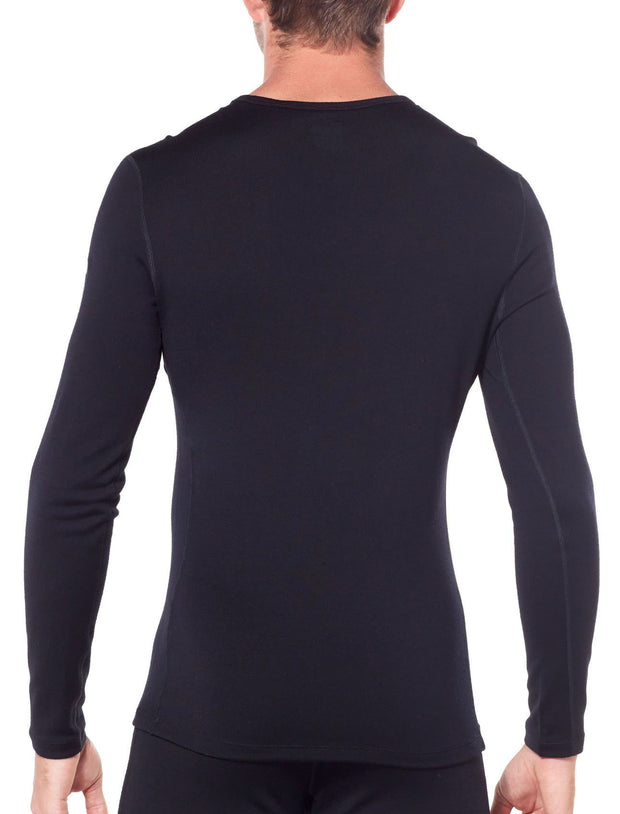 Mens 260 Tech LS Crewe-Icebreaker-The WoolPress Arrowtown