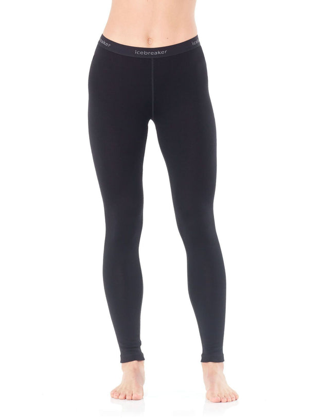 Womens Tech Leggings-Icebreaker-The WoolPress Arrowtown