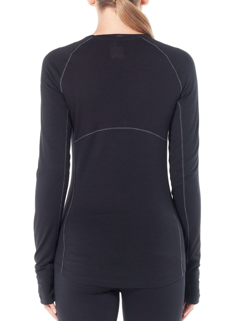 Womens 200 Zone LS Crewe-Icebreaker-The WoolPress Arrowtown
