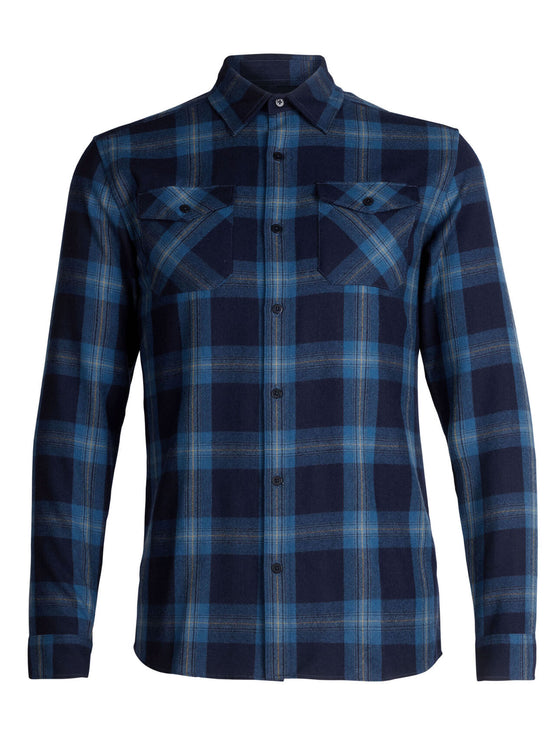 Mens Lodge LS Flannel Shirt
