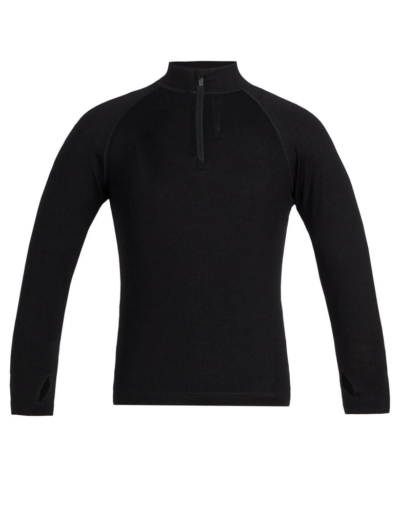 Icebreaker-Kids 260 Tech LS Half Zip 2-6 Years-shop online at www.thewoolpress.com