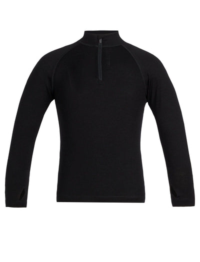 Kids 260 Tech LS Half Zip 8-14 Years-Icebreaker-The WoolPress Arrowtown