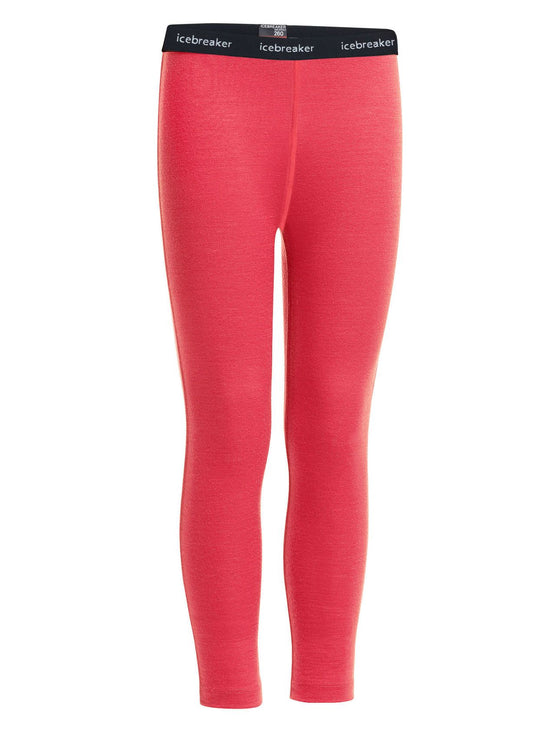 Icebreaker-Kids 260 Tech Leggings 8-14 Years-shop online at www.thewoolpress.com