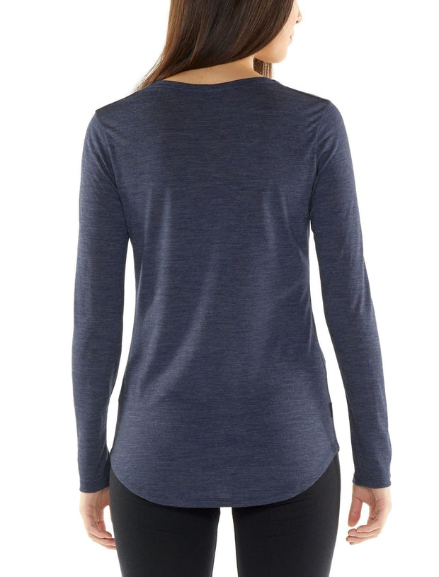 Womens Solace LS Scoop-Icebreaker-The WoolPress Arrowtown