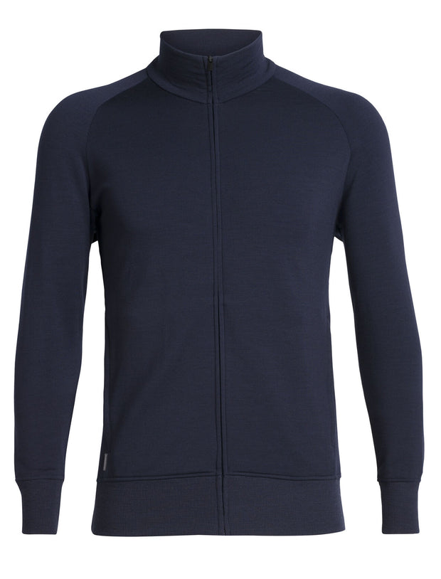 Mens Lydmar LS Zip - Midnight Navy