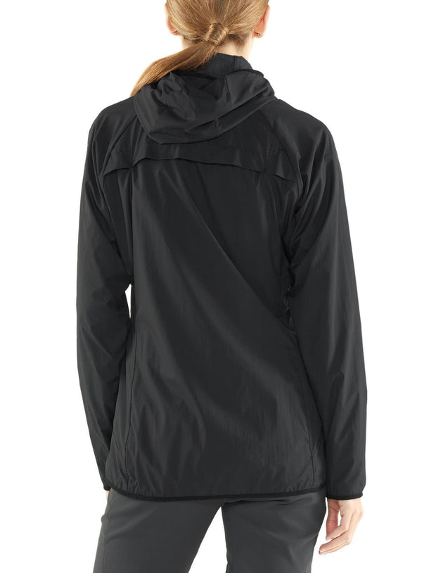 Womens Coriolis II Hooded Windbreaker-Icebreaker-The WoolPress Arrowtown