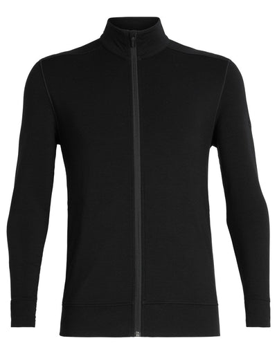 Mens Momentum LS Zip-Icebreaker-The WoolPress Arrowtown