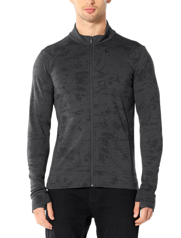 Mens Away II LS Zip
