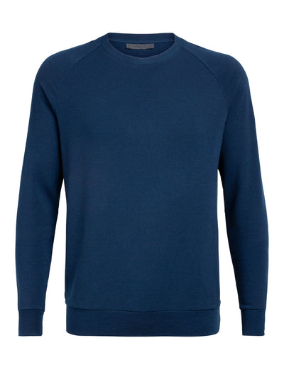 Mens Nature Dye Helliers LS Crewe