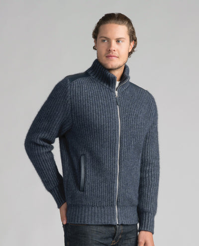 Mens Forrester Jacket-Merinomink-The WoolPress Arrowtown