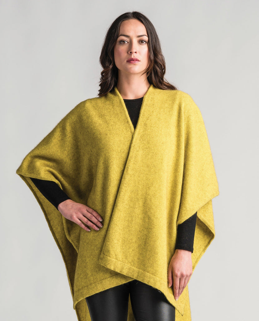 Merinomink-Womens Resort Wrap-shop online at www.thewoolpress.com