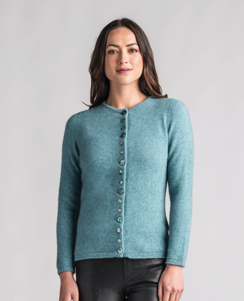 Merinomink-Womens Shell Cardi-shop online at www.thewoolpress.com