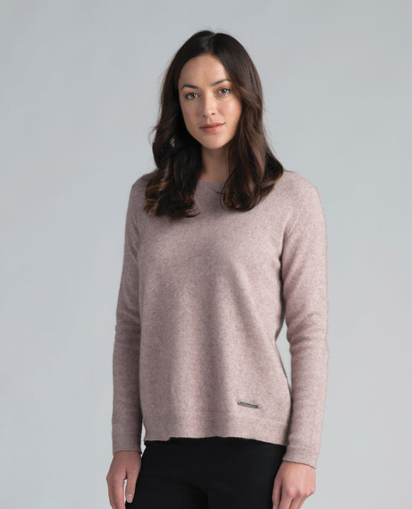Womens Merinomink Relaxed Sweater Duke
