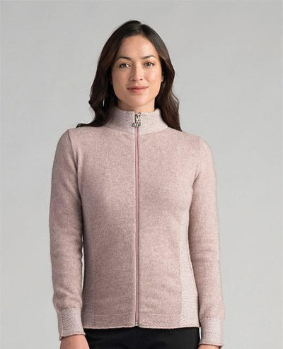Womens Mt. Cook Jacket-Merinomink-The WoolPress Arrowtown