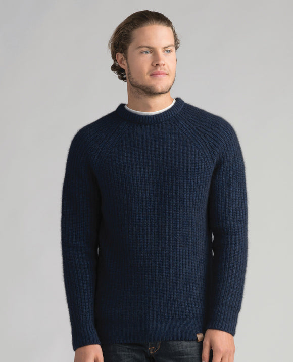 Mens Tekapo Crew Pebble