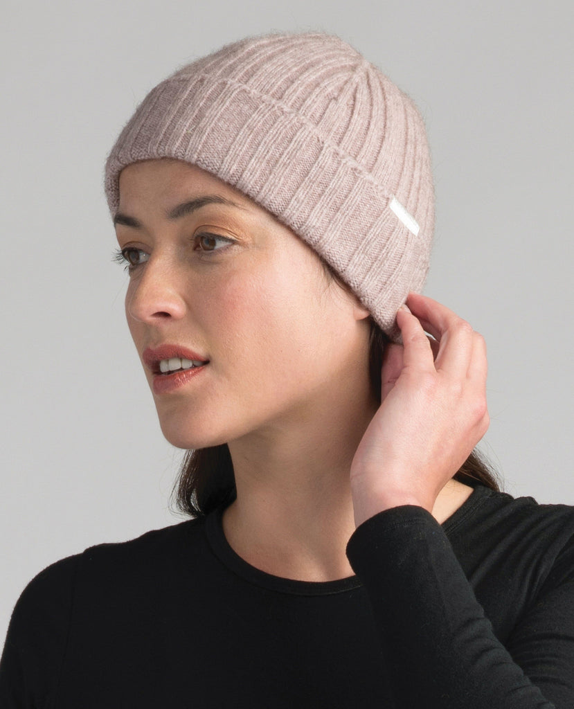 MM Rib Beanie-Merinomink-The WoolPress Arrowtown