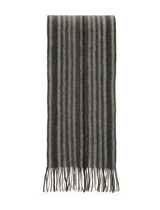 Native World-Unisex Possum Merino Multi Stripe Scarf-shop online at www.thewoolpress.com