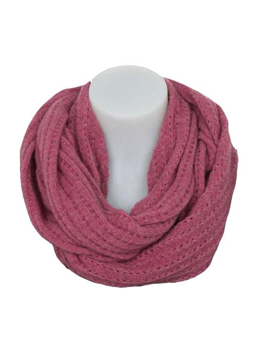 Womens Lace Loop Scarf-Native World-The WoolPress Arrowtown