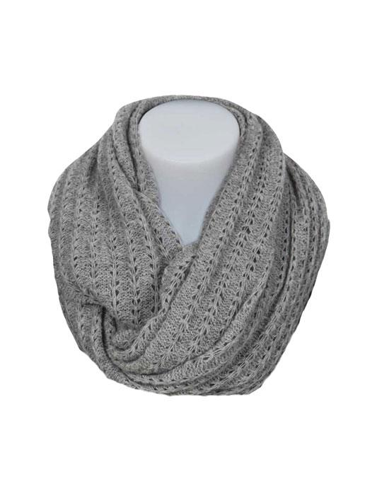 Native World-Womens Possum Merino Lace Loop Scarf-shop online at www.thewoolpress.com
