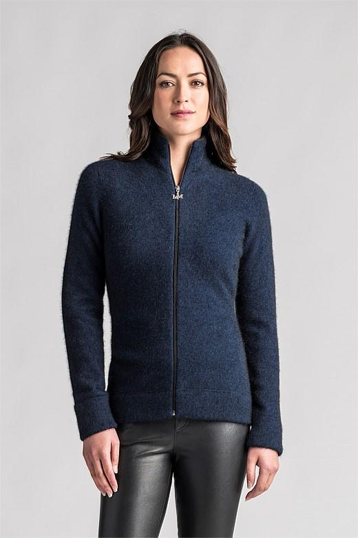 Womens Felted Jacket-Merinomink-The WoolPress Arrowtown