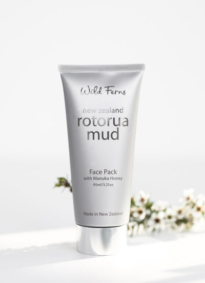 Wild Ferns Rotorua Mud Face Pack Manuka Honey | thewoolpress.com